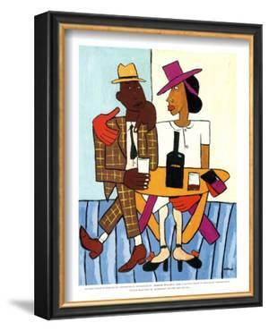 Cafe by William H. Johnson