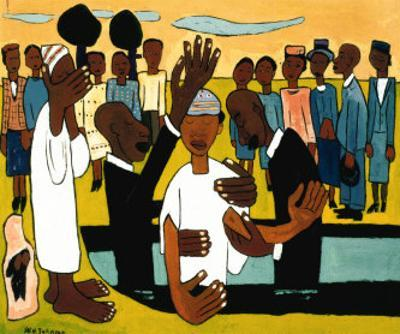 I Baptise Thee by William H. Johnson