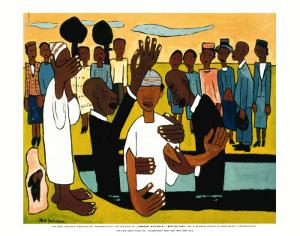 I Baptise Thee by William H Johnson