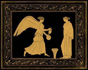 Etruscan Scene II by William Hamilton