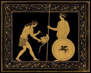 Etruscan Scene IV by William Hamilton