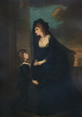 'Mrs. Siddons and Her Son in the Tragedy of Isabella, 1784, (1935) by William Hamilton