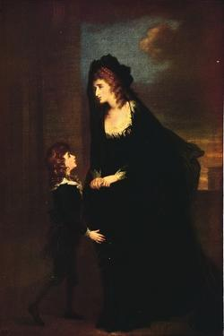 'Mrs. Siddons and her Son in the Tragedy of Isabella', 1784 by William Hamilton