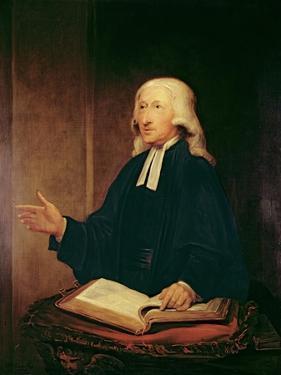 Portrait of John Wesley by William Hamilton