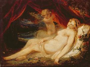 Venus and Putto by William Hamilton