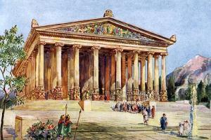 The Temple of Artemis, Ephesus, Turkey, 1933-1934 by William Harold Oakley