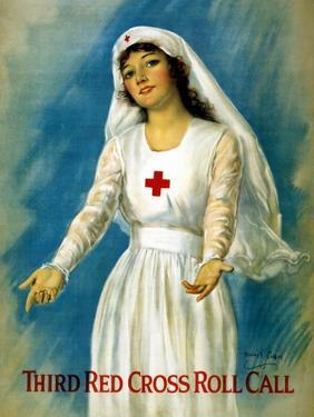 Third Red Cross Roll Call, 1918 by William Haskell Coffin