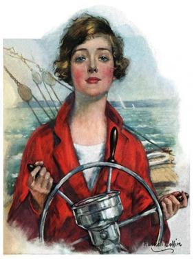 """""""Woman Sailor,""""October 15, 1927 by William Haskell Coffin"""