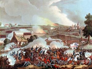 Battle of Waterloo, Belgium, 1815 by William Heath