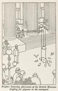 Angling for Pigeons by William Heath Robinson