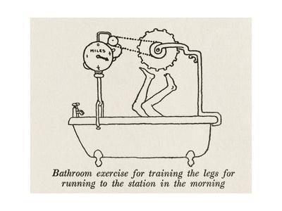 Bathroom Exercise