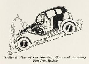 Car Cross Section 3 by William Heath Robinson
