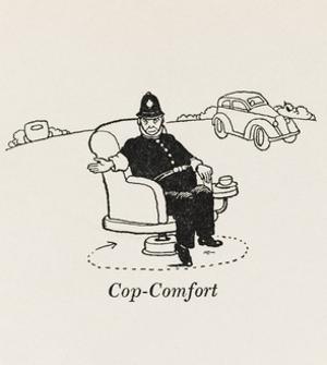Cop Comfort by William Heath Robinson