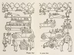 Happy Days in Peace Time by William Heath Robinson