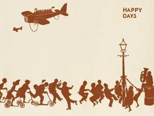 Happy Days by William Heath Robinson