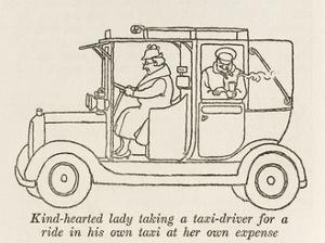 Help for Taxi Drivers by William Heath Robinson