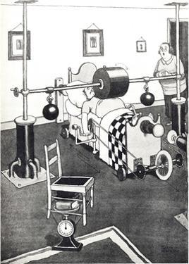 New Banting Bed for Reducing the Figure by William Heath Robinson