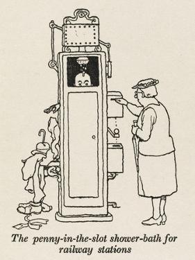 Railway Shower by William Heath Robinson