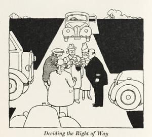Right of Way by William Heath Robinson