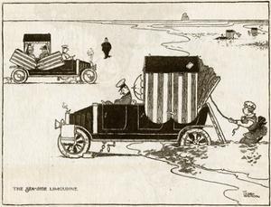 Seaside Limousine by William Heath Robinson