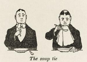 Soup Tie by William Heath Robinson