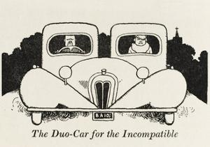 The Duo Car for the Incompatible by William Heath Robinson