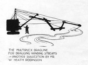 The Multiplex Dragline by William Heath Robinson