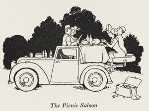 The Picnic Saloon by William Heath Robinson