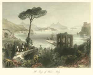 Bay of Baie, Italy by William Henry Bartlett