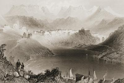 Clifden, Connemara, County Galway, Ireland, from 'scenery and Antiquities of Ireland' by George…
