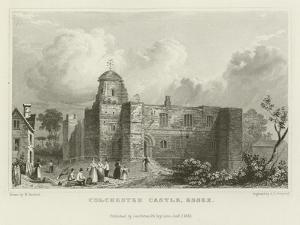 Colchester Castle, Essex by William Henry Bartlett