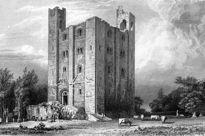 Hedingham Castle, Essex, Engraved by John Carr Armytage, 1832