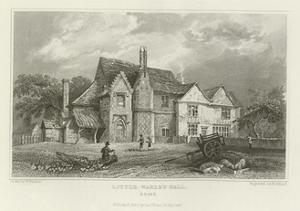 Little Warley Hall, Essex by William Henry Bartlett