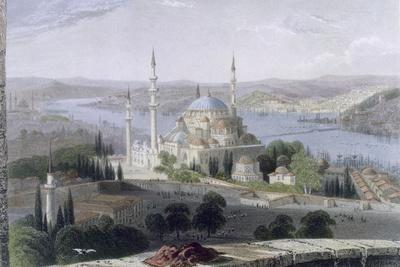 Mosque and Tomb of Suleiman, C.1850