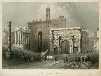 The Forum- Rome, Italy