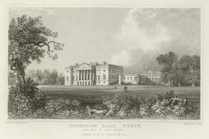Thorndon Hall, Essex, the Seat of Lord Petre by William Henry Bartlett