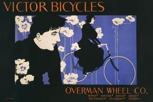 Victor Bicycles (horizontal) by William Henry Bradley