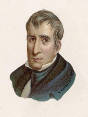 William Henry Harrison President of the United States for One Month: The First to Die in Office