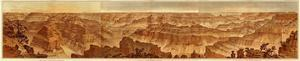 Grand Canyon: Composite Panorama from Point Sublime, c.1882 by William Henry Holmes
