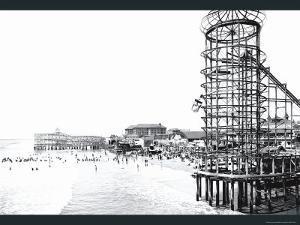 Amusement Park, Long Beach, California by William Henry Jackson