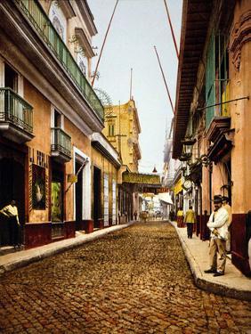 Calle De Havana, Havana by William Henry Jackson