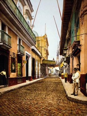 Calle De Havana, Havana by William Henry Jackson