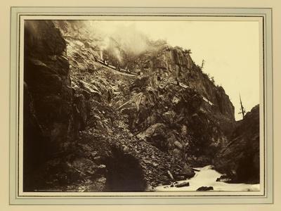 Canon of the Rio Las Animas (Colorado), C.1880