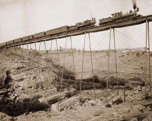 Dale Creek Bridge, Wyoming, Union Pacific Railway, 1885 by William Henry Jackson