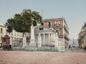 El Templete, Havana by William Henry Jackson