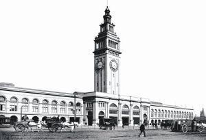 Ferry Building, San Francisco by William Henry Jackson
