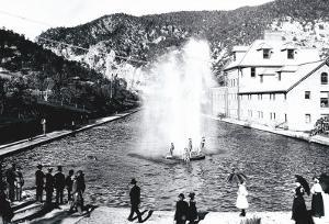 Glenwood Springs, Colorado by William Henry Jackson