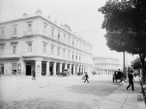 Gran Hotel Inglaterra, Havana, Cuba by William Henry Jackson