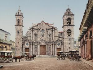 La Catedral, Havana, Cathedral of the Virgin Mary of the Immaculate Conception by William Henry Jackson