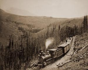 Marshall Pass, Colorado, Westside, 1880-1881 by William Henry Jackson